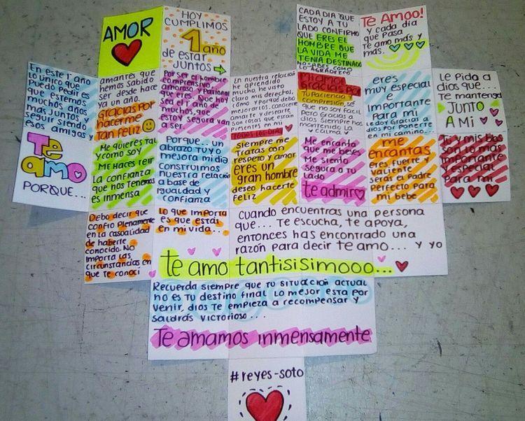 Carta De Amor Diy Gifts For Boyfriend Boyfriend Gifts Gifts For My Boyfriend