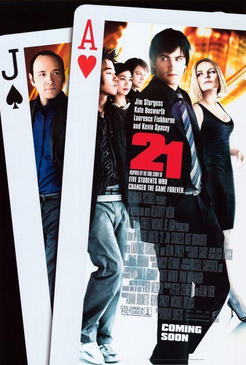 21 27x40 Movie Poster 2008 Filmes Kevin Spacey E Filmes Completos