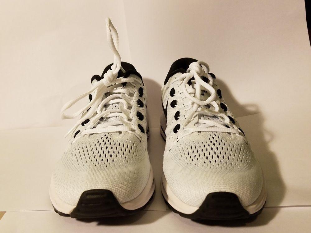 8f6b07adff1e Nike Air Zoom Vomero 12 Women s Running Training Shoes White Black 863766  100  fashion
