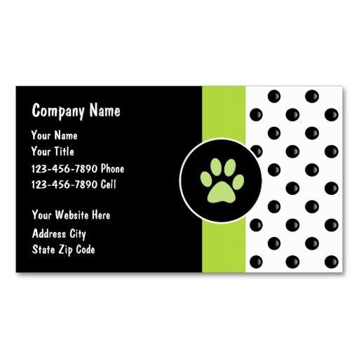 Pet Care Business Cards Zazzle Com Pet Care Business Pet Businesses Pet Grooming Business