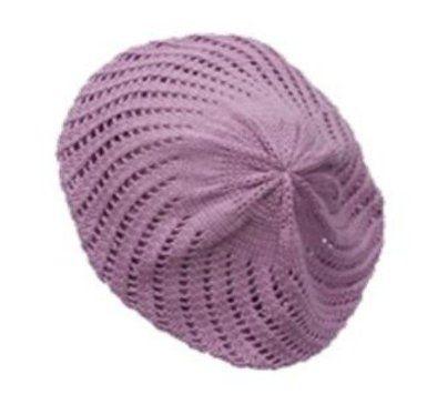ebf1e12415d190 Amazon.com: CLAUDETTE - Knit Cotton Beret by CTM (Turquoise): Clothing