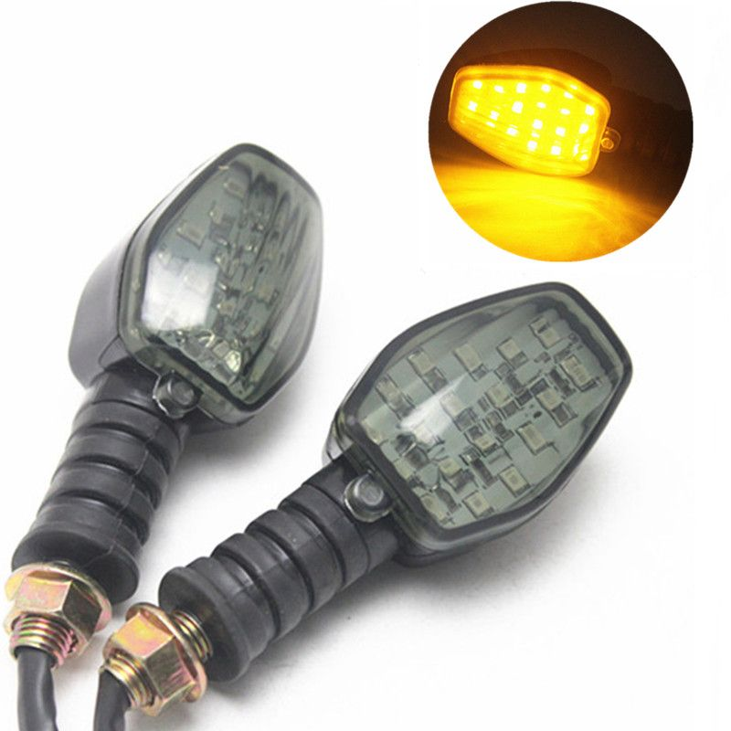 Universal 12v Motorcycle Turn Light Turn Signal Led Indicator Light Amber Lamp For Yamaha Honda Suzuki Ka Indicator Lights Motorcycle Accessories Led Indicator