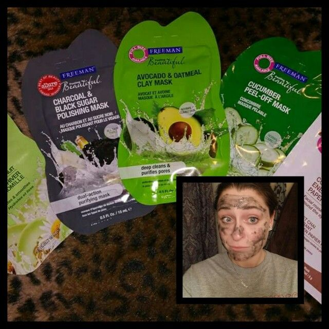 Enjoying my complimentary Charcoal and Black Sugar mask from @influenster sign up at www.influenster.com