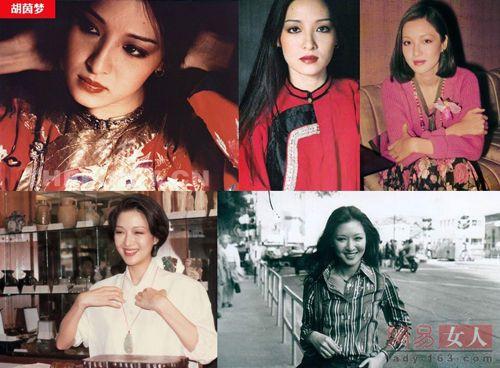 胡茵梦,人如其名,被台湾人誉为如梦似幻的天仙美女,才女.与李熬的短暂婚史轰动一时.胡茵梦是台湾六七十年代活跃于艺文界出名的大美女。七十年代末曾与台湾文坛巨匠李敖有过一段惊世的婚姻,最后两人反目成仇,成为李敖永远的心结。费翔的母亲也是台湾画界知名的才女,八十年代曾任电视台的节目策划人,和胡茵梦是闺中秘友,由此认识他的儿子费翔,在他尚未踏入演艺界之前两人就已成为好友。也可以算是费翔一生的红颜知己吧。照片里的费翔当时还是毛头小伙,而当时的胡茵梦珠圆玉润,秀外慧中,不愧当时台湾第一美女的称号!