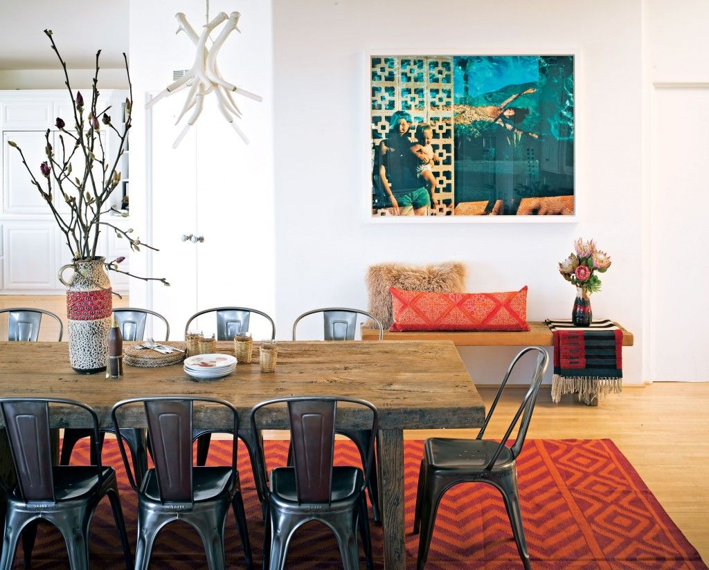 60Sera West German Pottery Adorns A Dining Room Table From Maison Stunning Dining Room In German Design Ideas