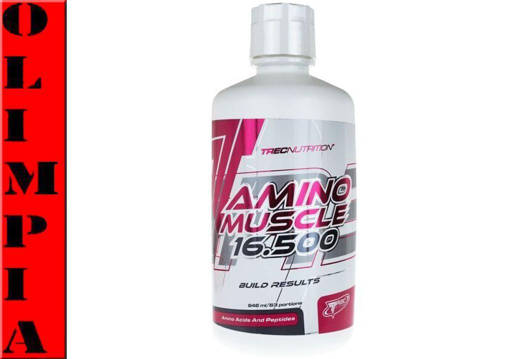 Trec Amino Muscle 16 500 473ml Aminokwasy Plyn 5286921928 Oficjalne Archiwum Allegro Muscle Vodka Bottle Vodka