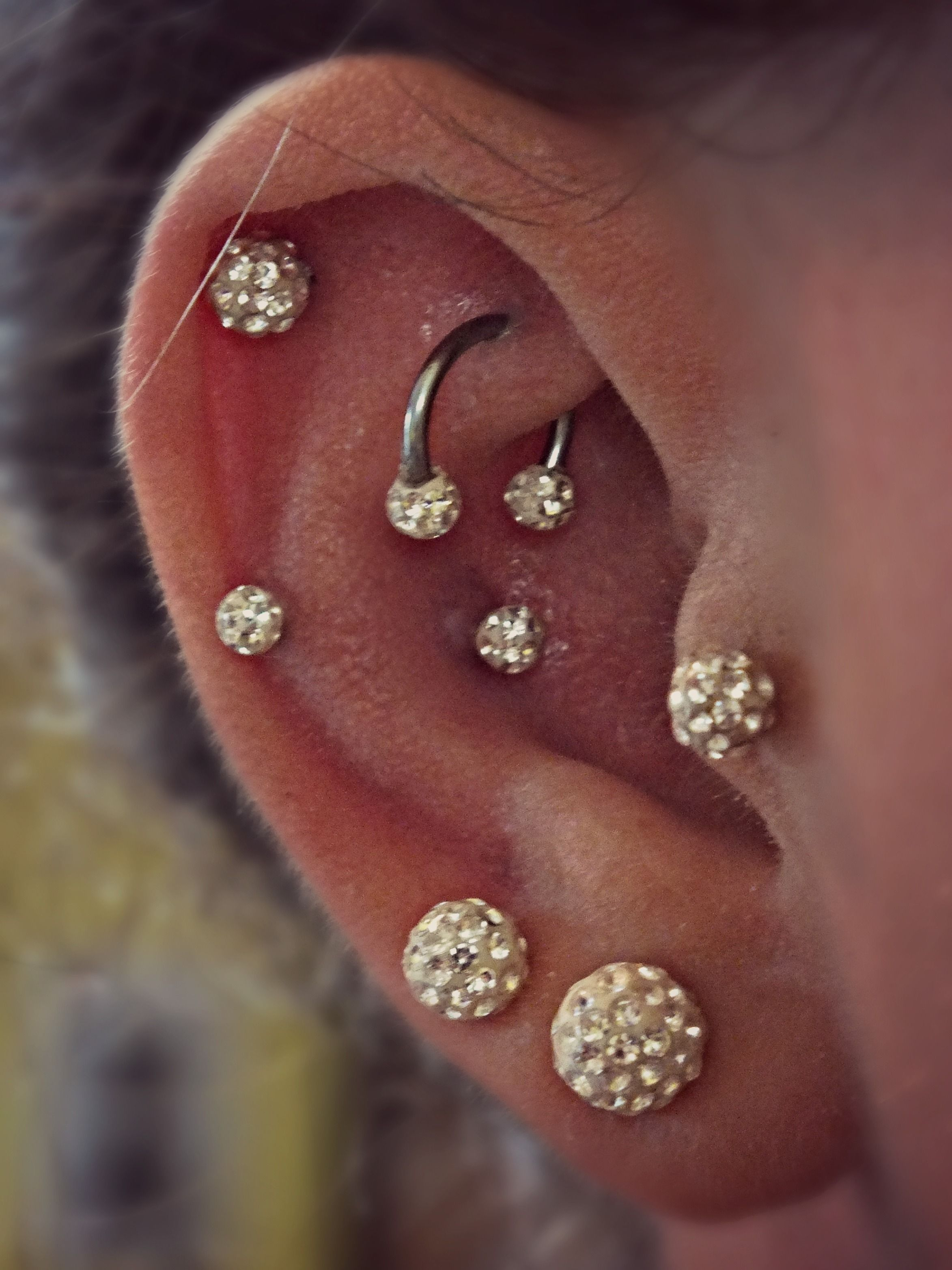 Bump after piercing  Earings Piercings Upper Cartlage Cartlage Piercing Rook Rook