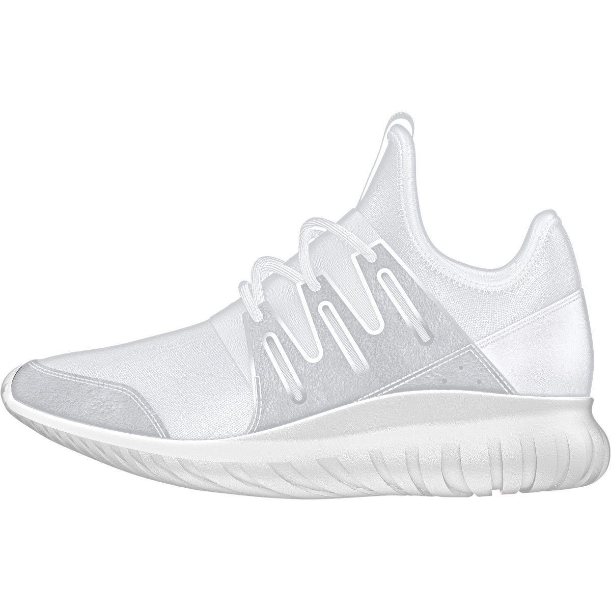 Ragazzi adidas tubulare radiale scarpe adidas, per le scarpe e