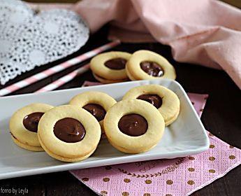 Occhi di bue alla nutella o crema di nocciole