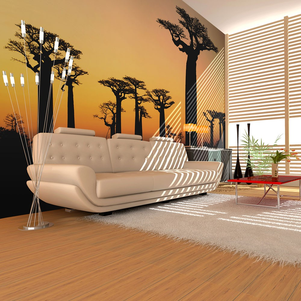 Wallpaper African Baobab Trees In 2020 3d Wallpaper Mural