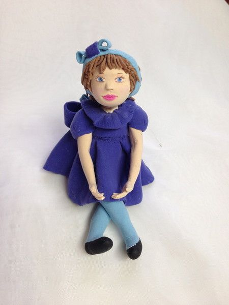 a doll from decoclay