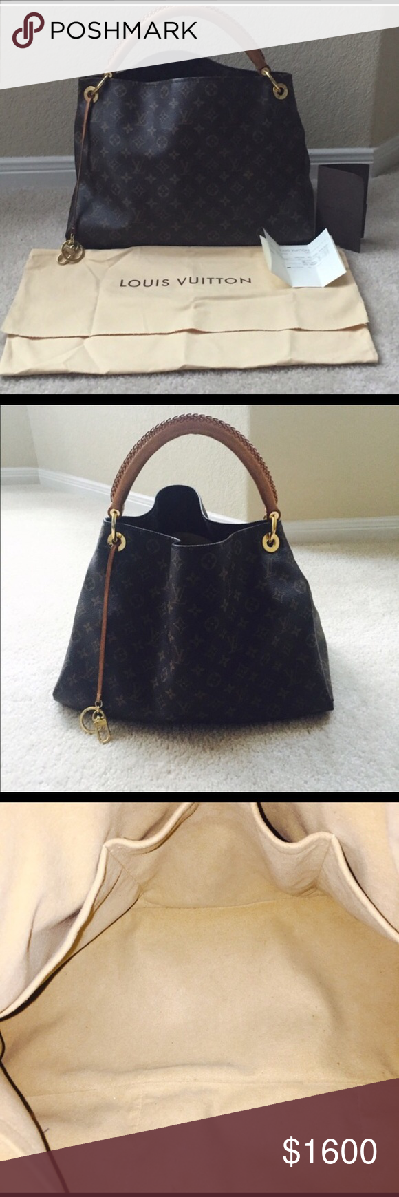 7ed0742dfff Louis Vuitton Artsy MM bag Gorgeous