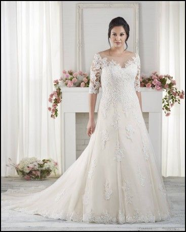 Wedding Dresses For Short Chubby Brides