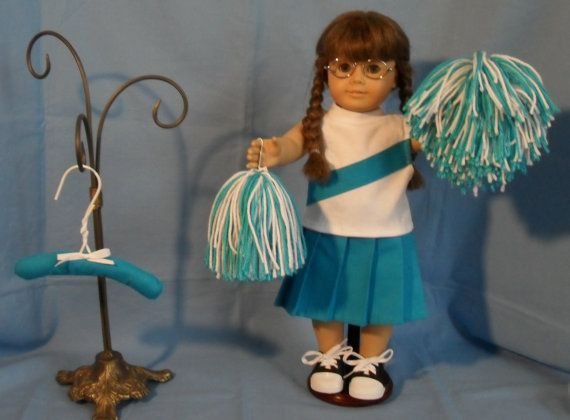 18 Inch Girl Doll Cheerleading Uniform #18inchcheerleaderclothes