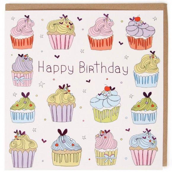 Cupcake Extra Large Birthday Card Cards Birthday Pinterest