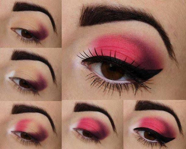 maquillaje ojos ahumados paso a paso - Buscar con Google Make up