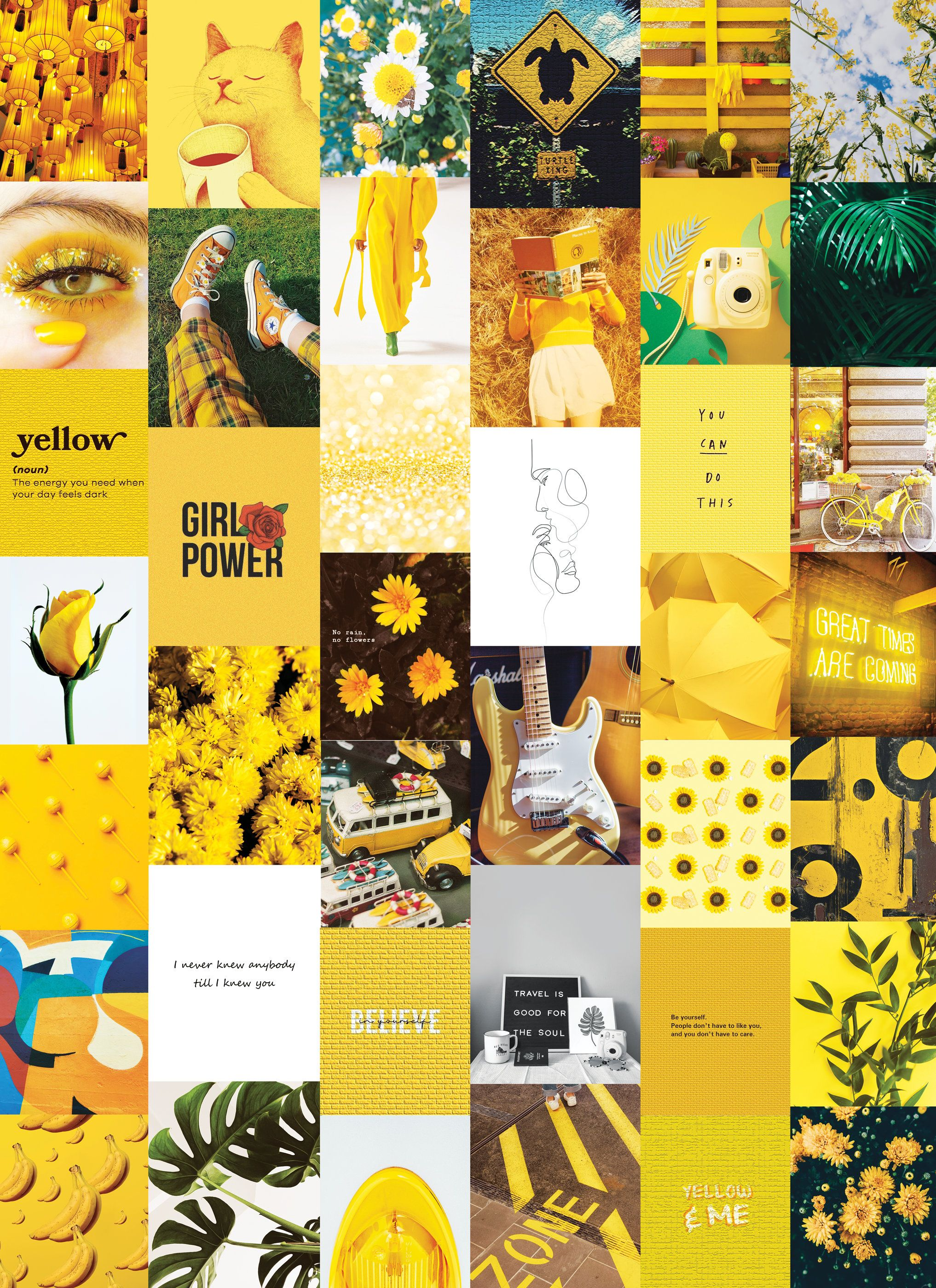 Aesthetic Yellow Pictures