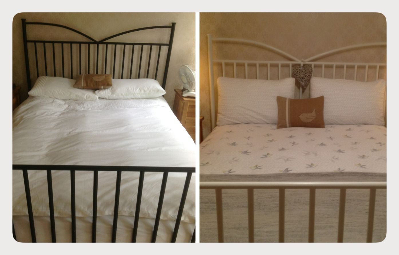 Ikea bed fame painted with Annie Sloan Chalk Paint in Old ...