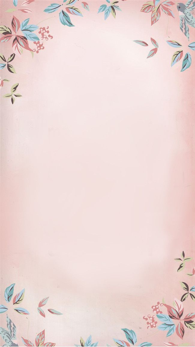 Fundo Floral Cor   De   Rosa Floral H5