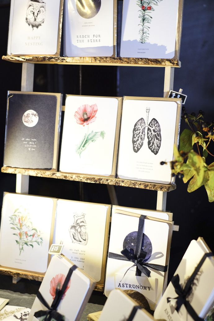 DIY greeting card display a great