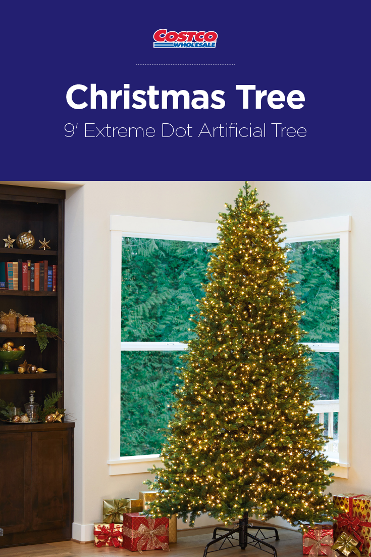 9 Artificial Christmas Tree.The 9 Extreme Dot Artificial Christmas Tree Makes For A