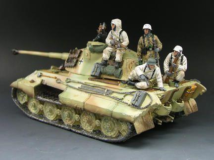 Winter Tank Riders