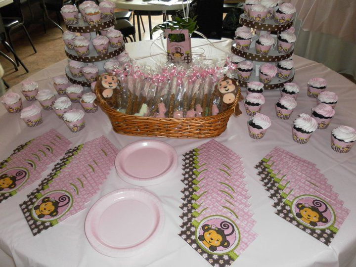 Baby Shower Theme Ideas For Girls Decorations