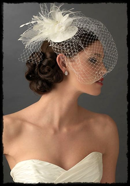 Fab Bridal Finds For Under 100 Usabride Blog In 2020 Short Hair Bride Fascinator Hairstyles Wedding Hair And Makeup