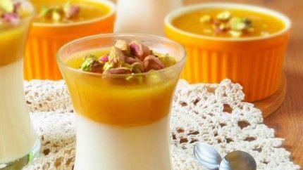 طريقة عمل قمر الدين مهلبية Recipe Desserts Arabic Dessert Ramadan Recipes