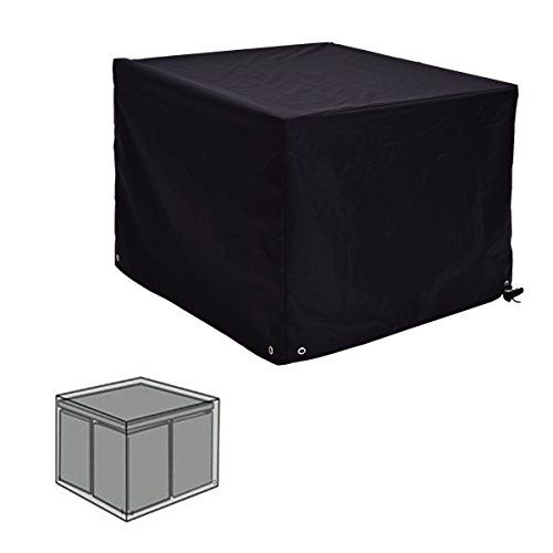 rattan furniture covers. Costway Square Furniture Covers Patio Rattan Waterproof Cover Chair Table  Protection (123CM X 123CM 74CM Rattan Furniture Covers D