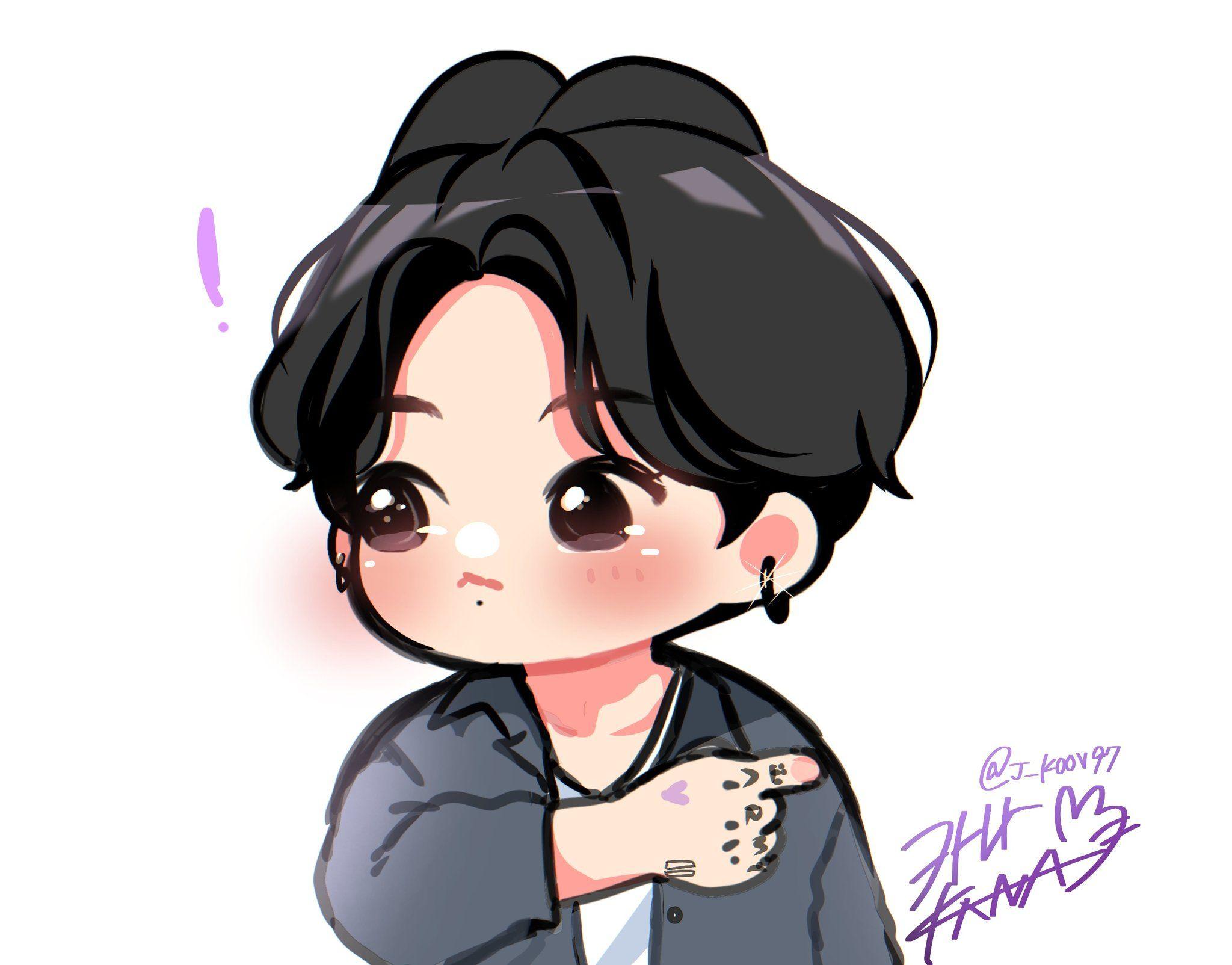 카나kana/busy on Twitter in 2020 Bts chibi, Bts fanart