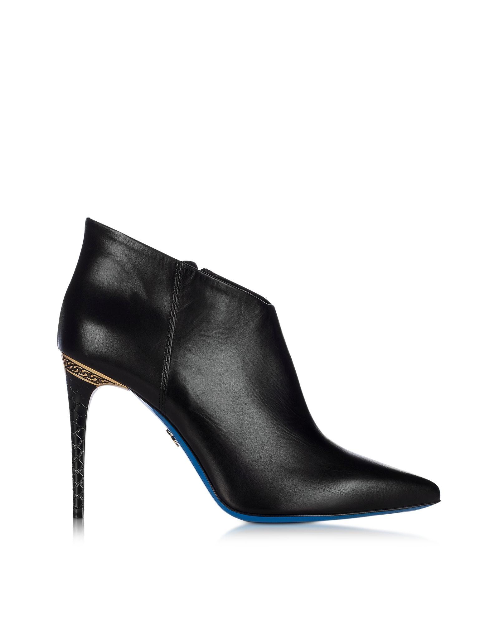 LORIBLU Designer Shoes, Patent Leather Pointed Pump