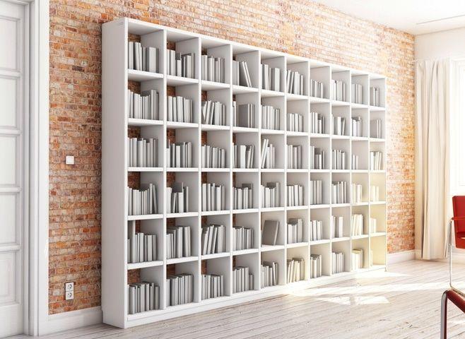 Bücherregal Nach Maß bücherregal nach maß aus weißem mdf holz alle maße wie breite höhe