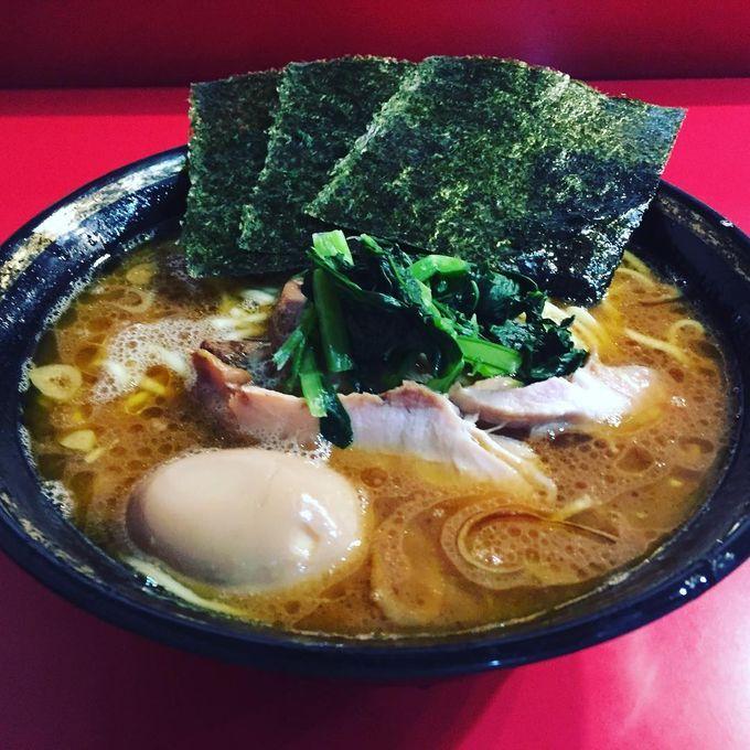 家系総本山 吉村家 Tonkotsushoyu Iekei Ramen Yokohama 料理