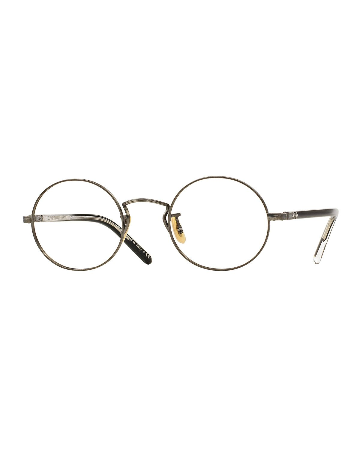 Executive I Fashion Glasses, Gold - Oliver Peoples Executive Series ...