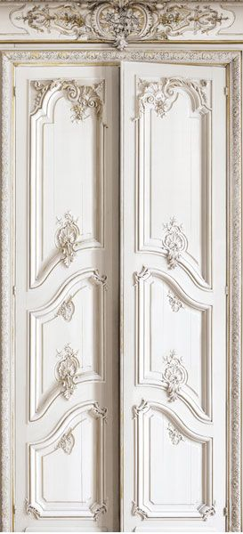 le papier peint trompe l 39 oeil plus vrai que nature de koziel doubles portes haussmannien et. Black Bedroom Furniture Sets. Home Design Ideas