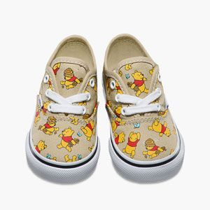 VANS Disney Winnie the Pooh Authentic Toddlers Shoes (With