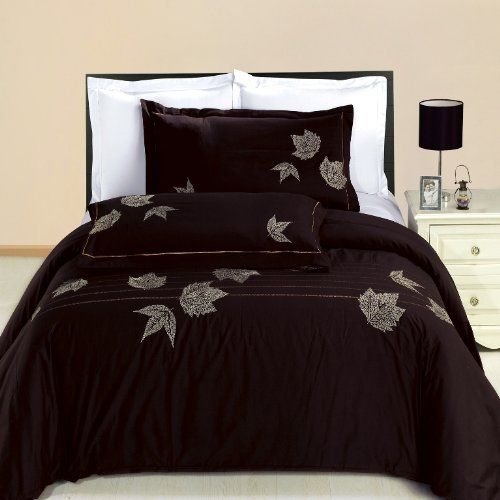 Newbury Embroidered 3 Piece King California King Duvet Cover Set 100 Egyptian Cotton 300 Thread Count Duvet Sets California King Size Bed Duvet Cover Sets