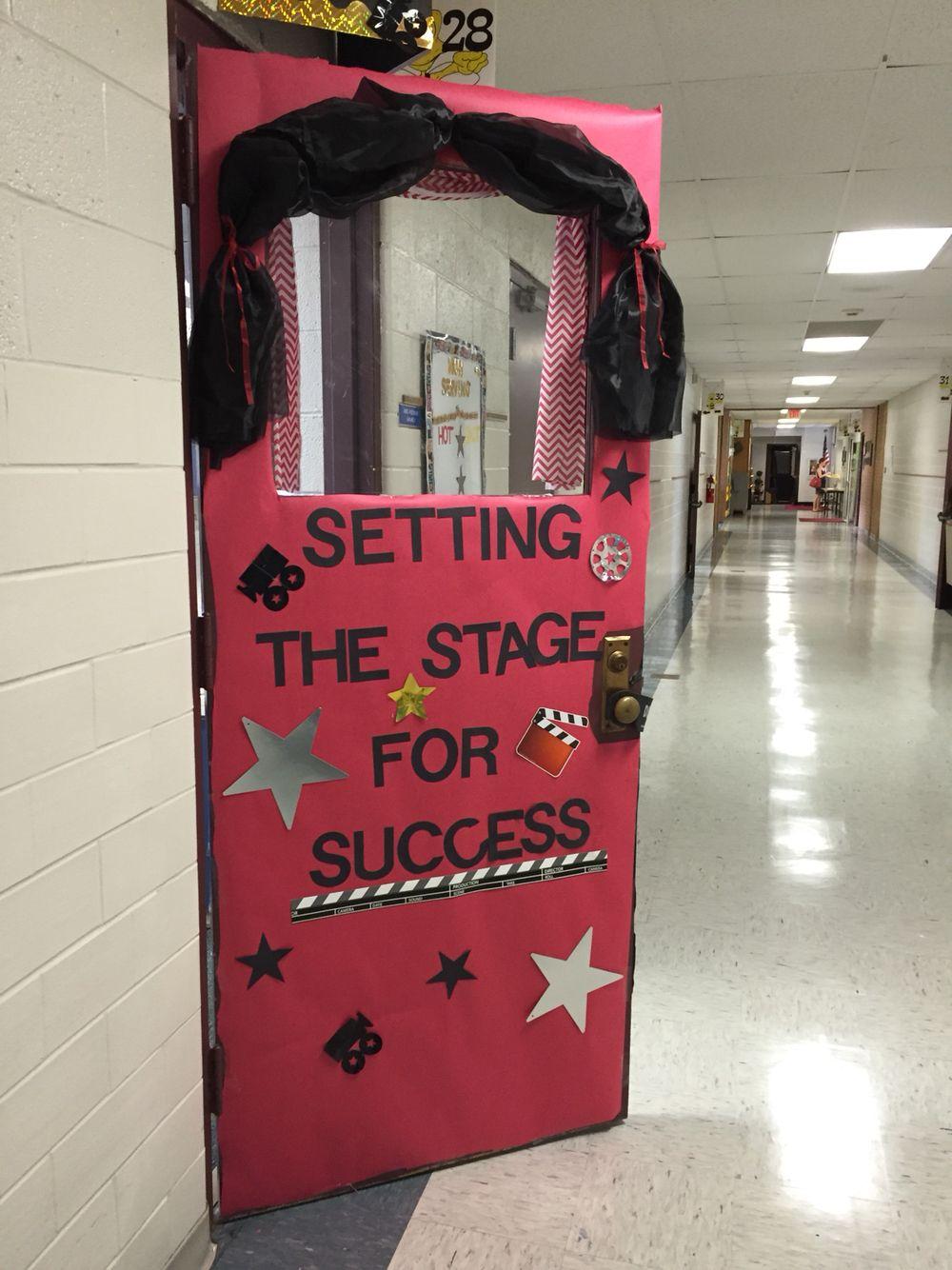 Hollywood themed classroom door   My 2015-2016 Third Grade ...