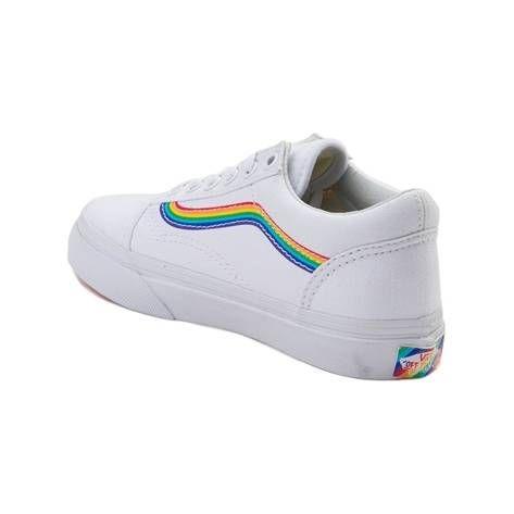 Details about Vans Old Skool Rainbow Women's Size 9.5