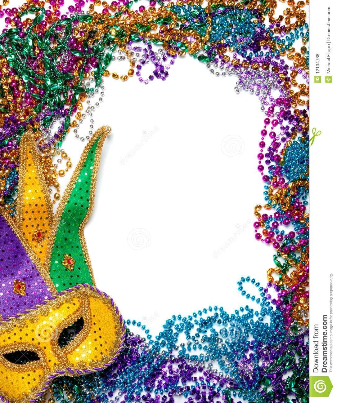 Mardi Gras Border Images Free Stock Photos Border Made Of