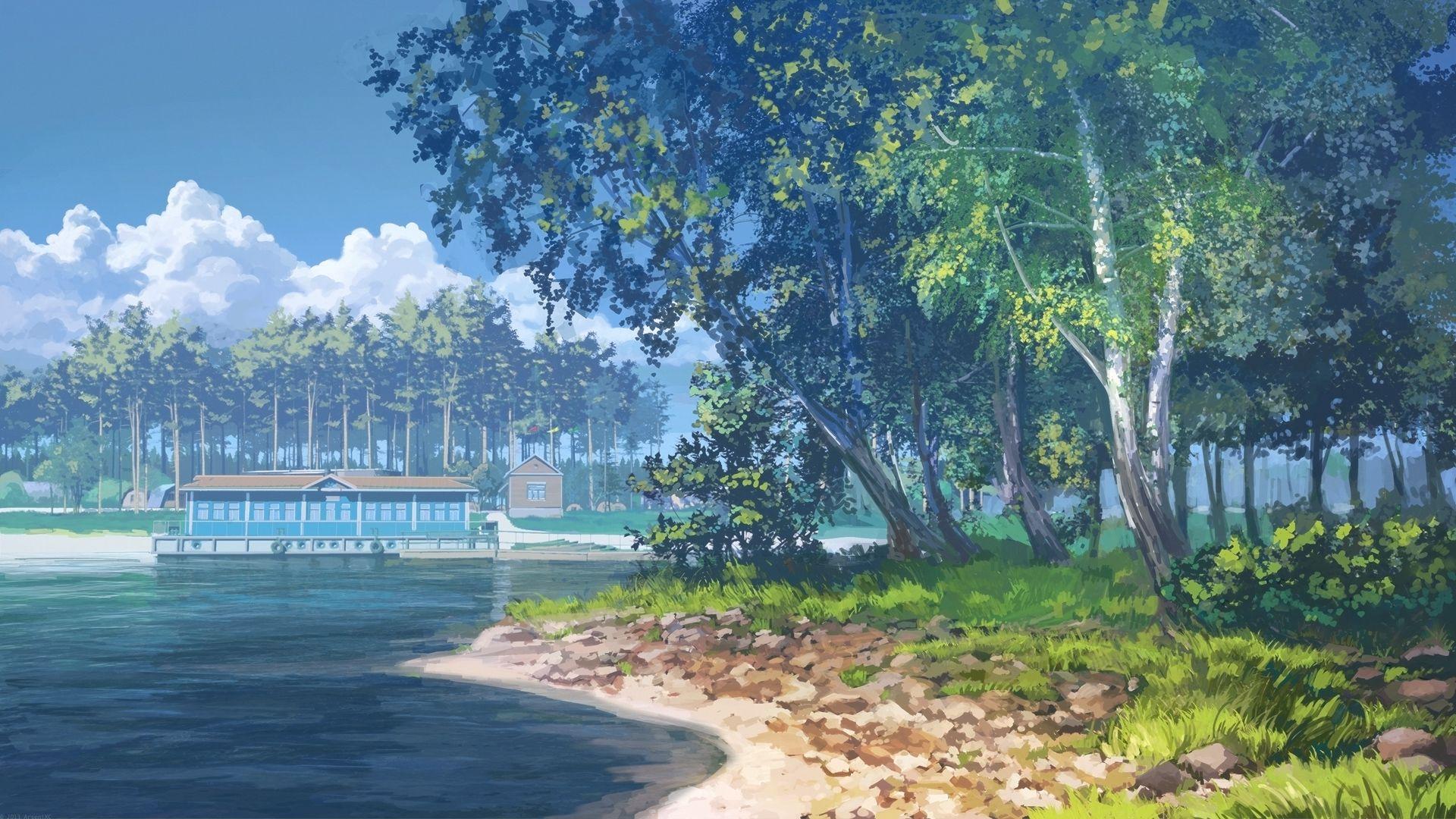 Island Day By Arsenixc Deviantart Com On Deviantart Fundos De