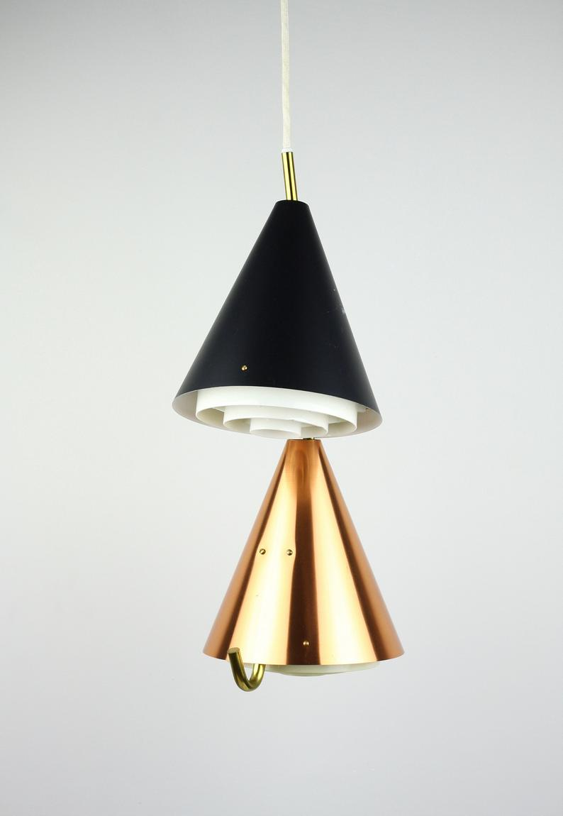 Very Rare Bent Karlby Lamp Made For Danish Lyfa In 1959 Elegant Lighting Lamp Wall Ceiling Lights