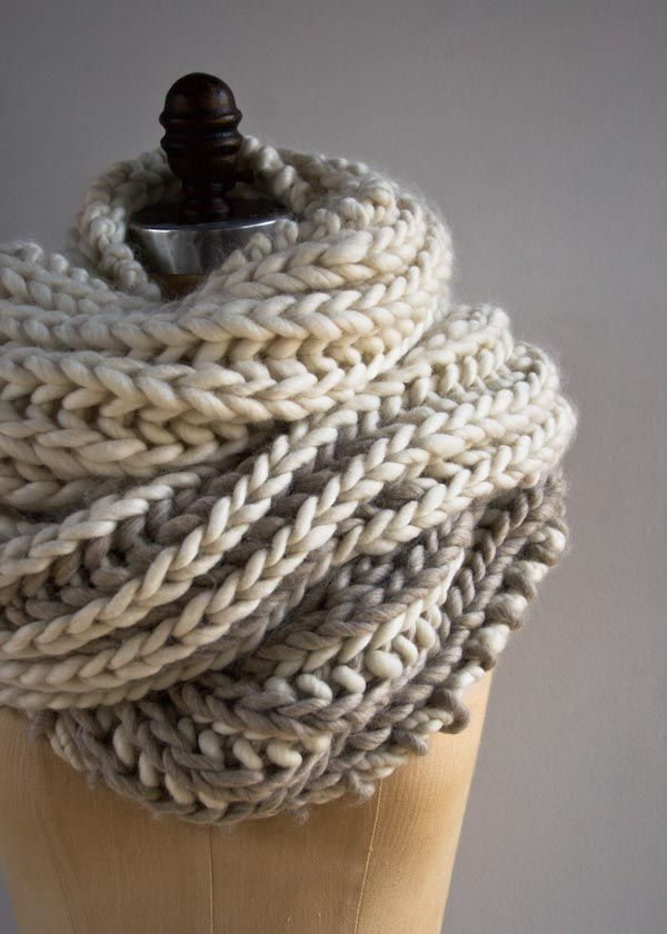 Color Dipped Scarves Purl Soho Knitting Patterns Free