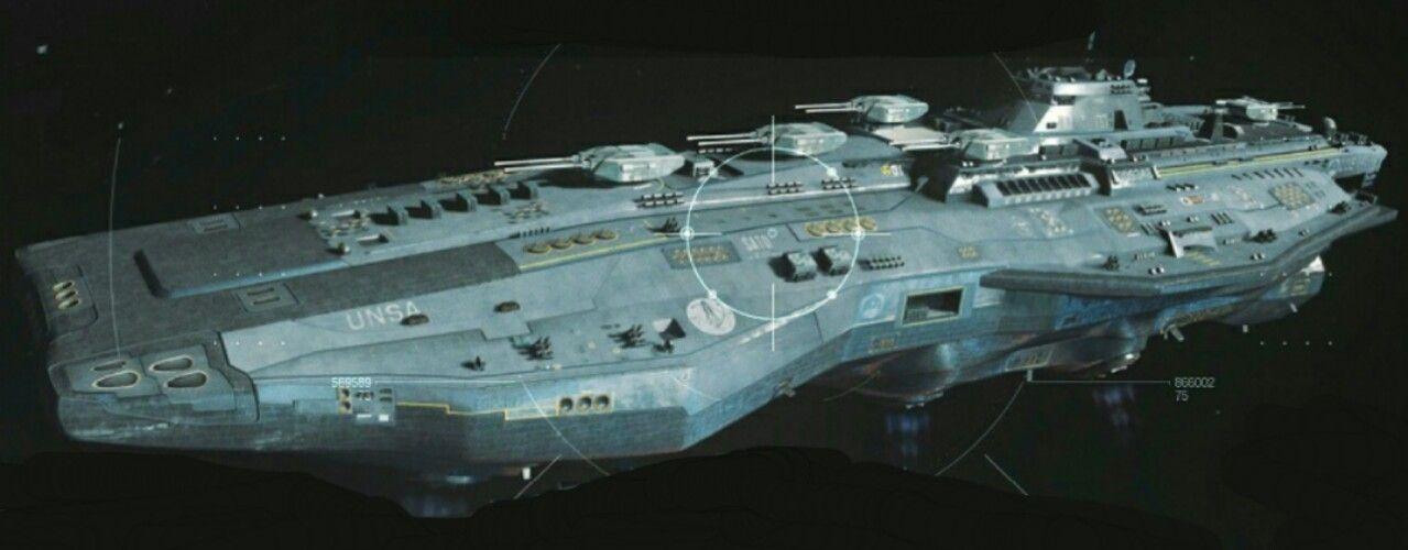 Scifi light carrier valiant 3d model obj fbx 1 dreadnought in 2019 - Infinite warfare ship assault ...
