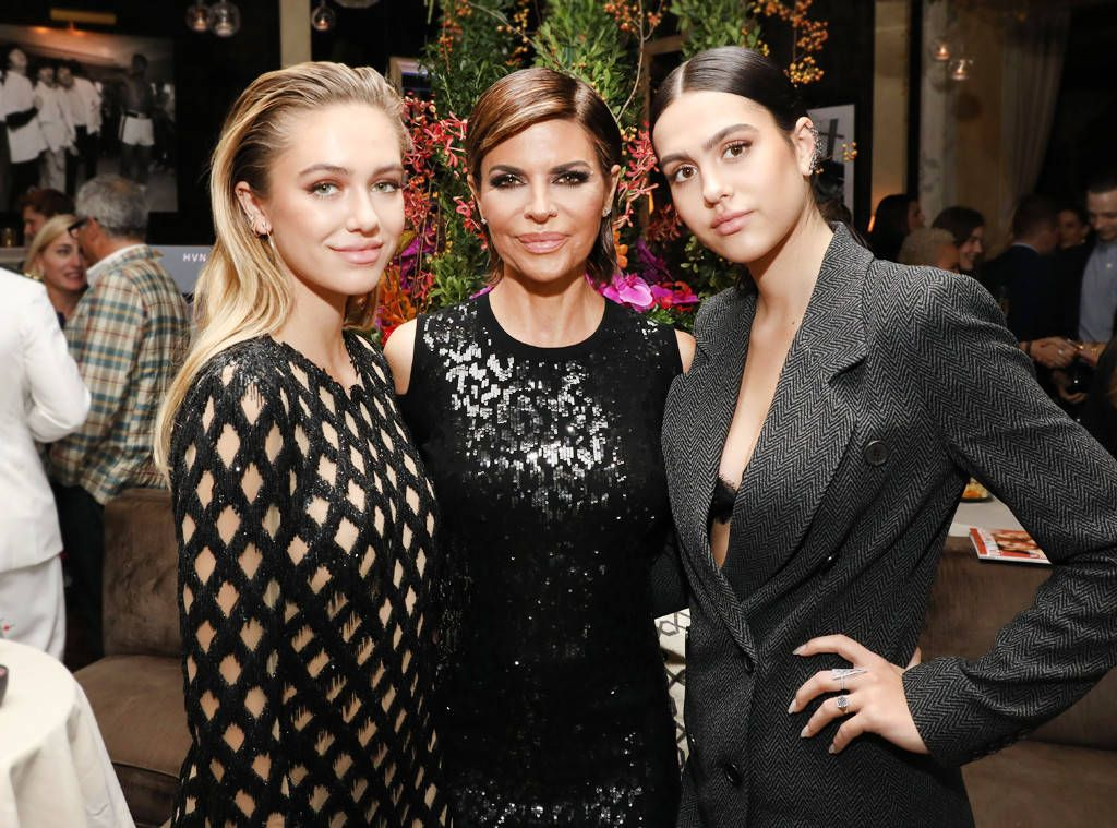 Lisa Rinna and Harry Hamlin's daughter Amelia and her sister