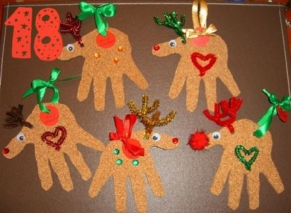24 Great Ideas for DIY Christmas Crafts for the Kids Deco
