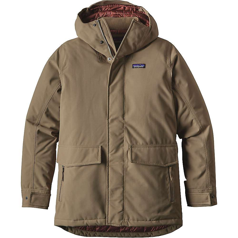 Patagonia Men's Stormdrift Parka - XL - Ash Tan