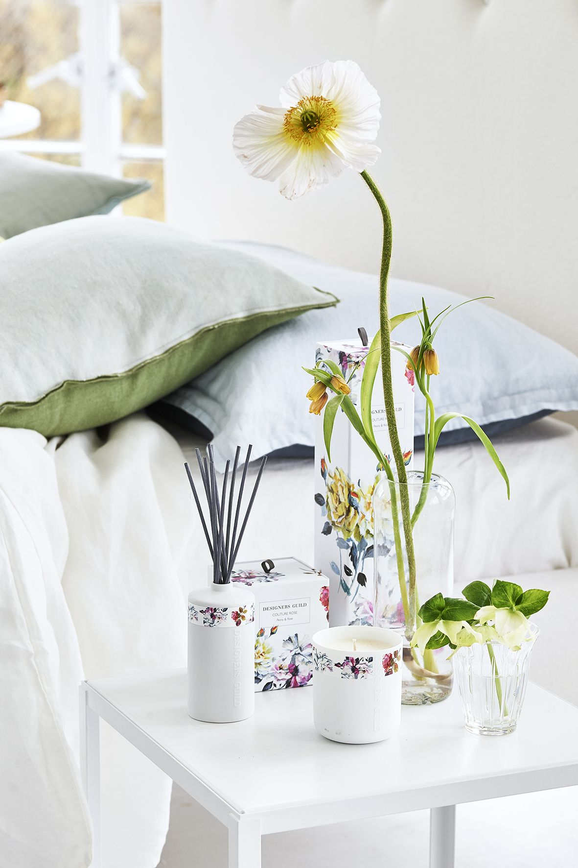 Couture rose home fragrance collection   Designers Guild   Summer ...