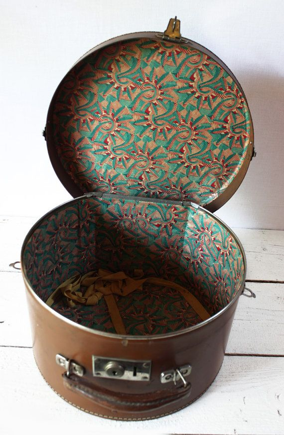Reserved For Lz Etsy Vintage Hat Boxes Hat Boxes Hat Box